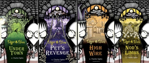 Edgar & Ellen, books 3-6