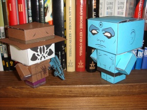 thanks to cubeecraft.com for the wee Watchmen!