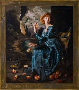 """Opened Apples"" by Gail Potocki"