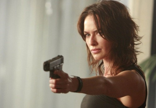 Lena Heady as Sarah Connor. The show is about her, for cry eye, but Levs faults Fox for basing its marketing on the robotrix played by Summer Glau, which skewed the viewing audience toward squeaky-voiced Xbox teens.