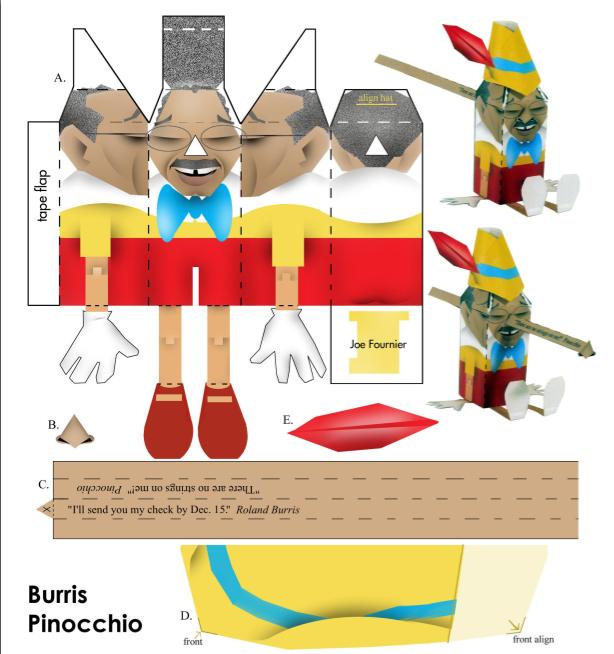 pinocchio hat template - newspapers meet papercraft the retort