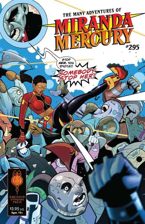 Miranda Mercury by Brandon Thomas and Lee Ferguson