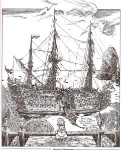 Eat this piratey verisimilitude, Verbinski!