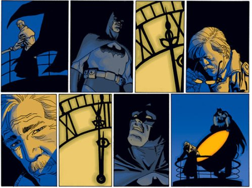 "Azzarello and Risso, ""Wednesday Comics: Batman"""