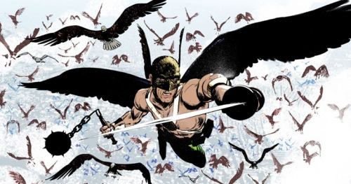 "Kyle Baker, ""Wednesday Comics: Hawkman"""