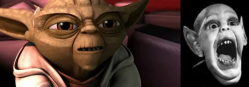 Yoda and Batboy: Separated at birth?