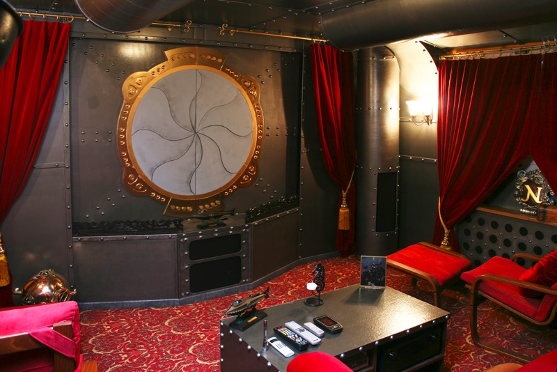 The World S Best Media Room The Batcave Vs The Nautilus