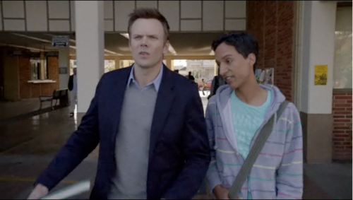 "At one point, Joel McHale delivers the line: ""If I wanted to learn something, I wouldn't have come to commnity college."" OK, ouch."
