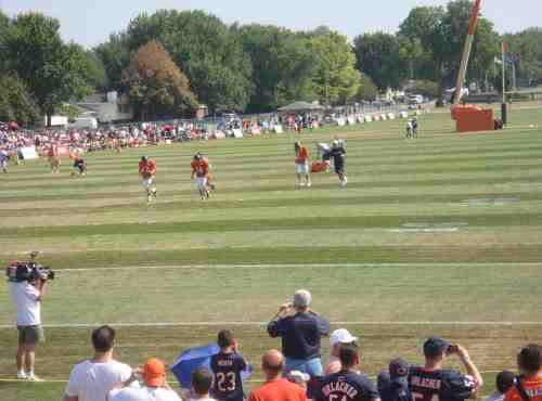 Not the worst view of Jay Cutler (No. 6, the franchise-making QB upon whom the pillars of the Earth depend).